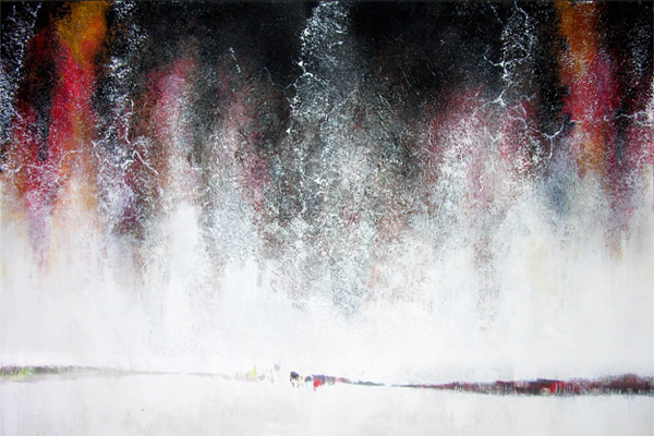 Francois Haguier / tableau abstraction