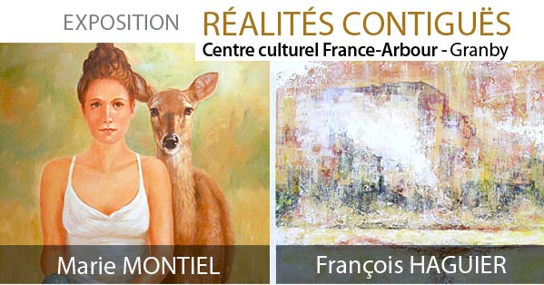 Exposition abstraite Centre culturel France-Arbour